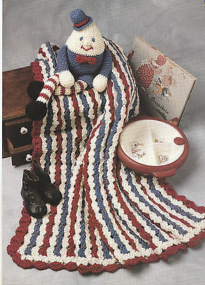 HUMPTY DUMPTY DOLL AND AFGHAN CROCHET PATTERN