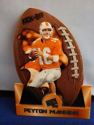 Peyton Manning 1998 Press Pass Trading Card