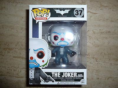 FUNKO POP! Dark Knight Trilogy JOKER BANK ROBBER #37 Rare, retired, vaulted.