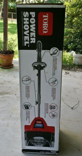 Toro 38361 Power Shovel 7.5 Amp Electric Snow Thrower Snow Blower Driveway Decks