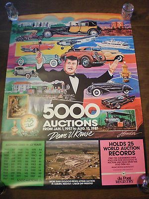 Auburn Cord Duesenberg Festival 1987 Poster 2 available free shipping on 2nd one