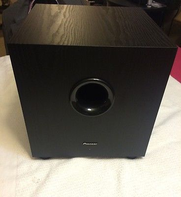 Powered Subwoofer Pioneer SW-8MK2 Andrew Jones Designed 100-Watt