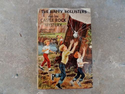 The Happy Hollisters and The Castle Rock Mystery Jerry West Young Readers Book