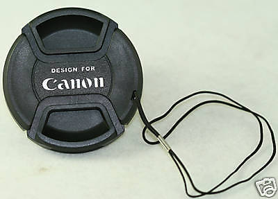 72mm 72 Lens cap For Canon 20-35mm 18-200mm 28-135mm 180 28-135mm 70-200mm cover