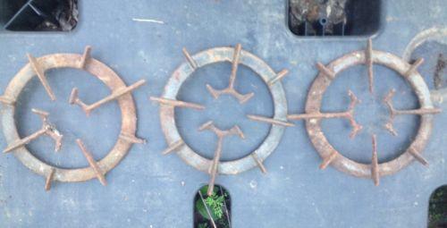 Vtg Cast Iron Wood Burning Stove Oven Grates Bucks Stove