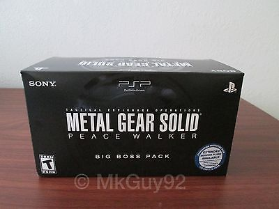 Metal Gear Solid: Peace Walker -Big Boss Pack- Limited Edition -PSP- BRAND NEW!