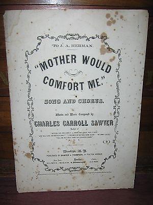 1863 CIVIL WAR SHEET MUSIC
