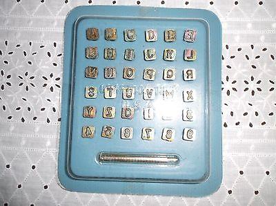 Craftool Co. Alphabet Set   1/4