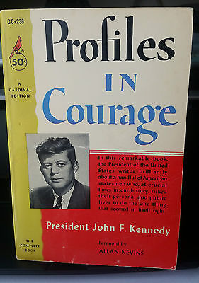 Profiles In Courage Cardinal Edition 1963 John F Kennedy Paperback