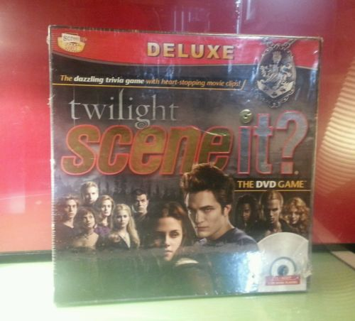 Twilight Scene it Dvd board game SEALED never opened NEW