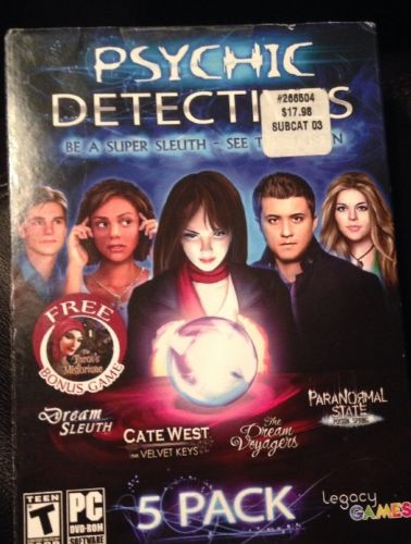 Psychic Detectives 5-Pack Windows