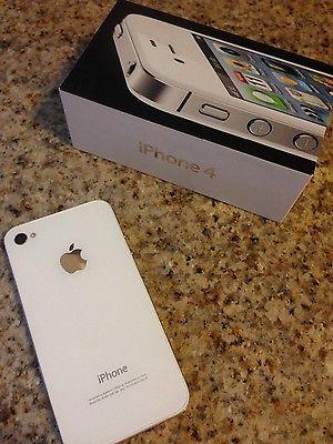 Apple iPhone 4 - 8GB - White (Verizon) Smartphone