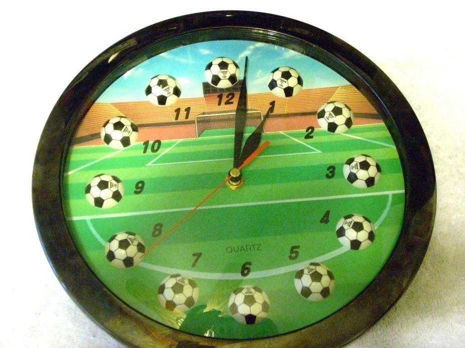 Soccer  Wall Clock Quartz