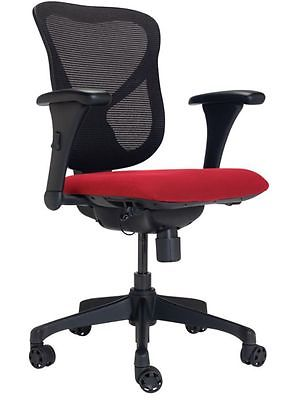 WorkPro Commercial Office Task Chair, Red