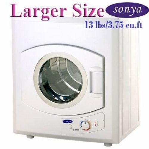 Sonya Portable Compact Laundry Dryer Apartment Size 110V 13lbs/3.75 Size