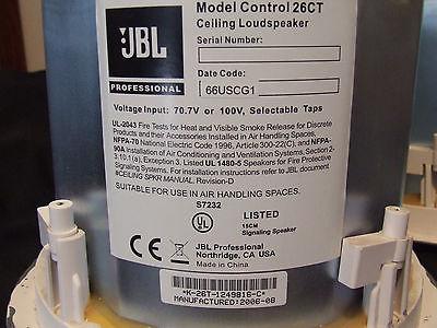 JBL Control 26CT Main / Stereo Speakers