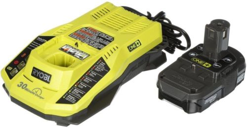 ONE+ 18-Volt Lithium-Ion Battery And IntelliPort Charger Upgrade Kit