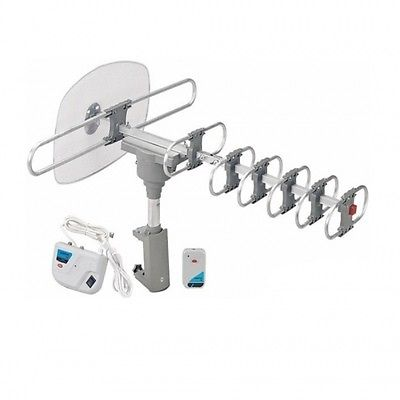 Quantum FX HD/DTV/UHF/VHF/FM 360 deg  Motorized Rotating Antenna