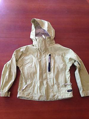 REI Elements Girl's rain jacket size 6/7 used