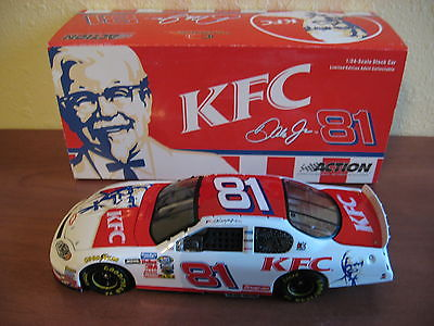 2004Dale Earnhardt Jr #81 KFC Chevy Monte Carlo 1/24 Action Limited Edition