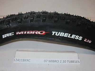IRC TIRE - MIBRO TIRE 26 X 2.10 / 127TPI Mountain Bike Tire - NEW UNUSED