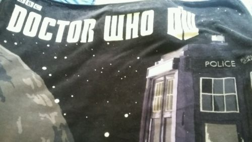 DOCTOR WHO throw / fleece blanket 50