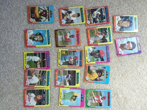 Lot Of Topps Baseball Cards