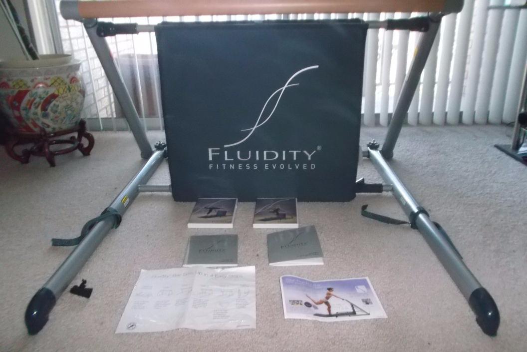 Fluidity Fitness Evolved Bar Ballet Dance Yoga, Pilates excercise Barre Strength