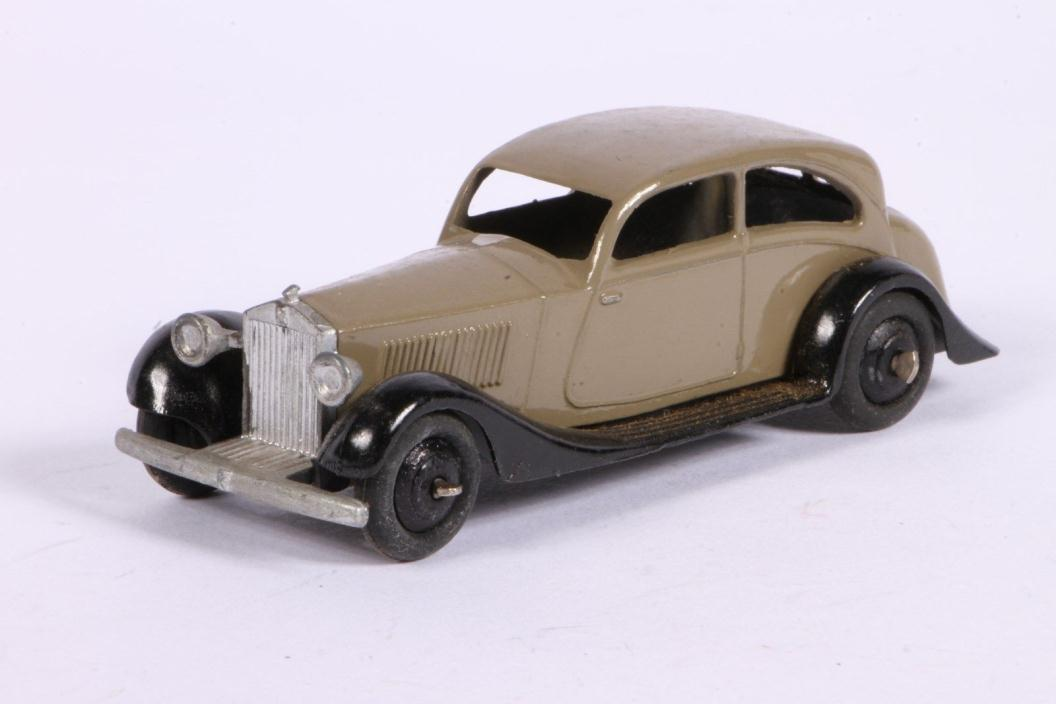 Dinky Toys No.30B Two-toned Rolls-Royce Car