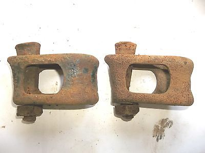 ORIGINAL FARMALL CULTIVATOR CLAMPS CUB SUPER A 100 130 140 C SC 200 230