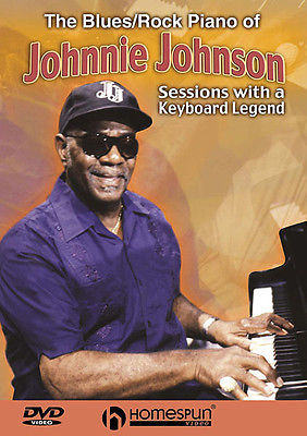 Blues Rock Piano of Johnnie Johnson Learn Intermediate Lessons DVD NEW