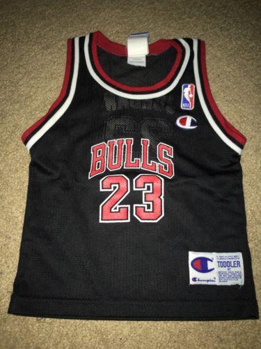Toddler Michael Jordan Champion Jersey Vintage