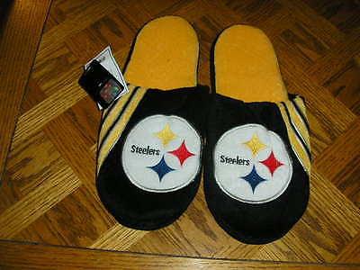 Pittsburgh Steelers Mens Slip On Slippers