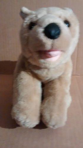 Animal Alley German Shepherd Shepard Plush Puppy Dog Stuffed Lovey Brown Blk EUC