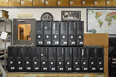 Lot of 18 x Dell Optiplex 745 SFF Computers