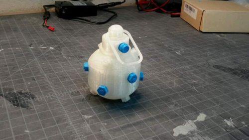 3d printed Impact grenade