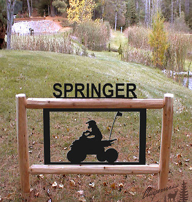 FOUR WHEELERS-ATVS-OUTDOOR SIGN-CLINGERMANS SIGNS