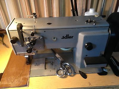 ADLER 467 INDUSTRIAL WALKING FOOT SEWING MACHINE WITH TABLE