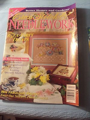 2 Cross Stitch & Needlework - Magazines-