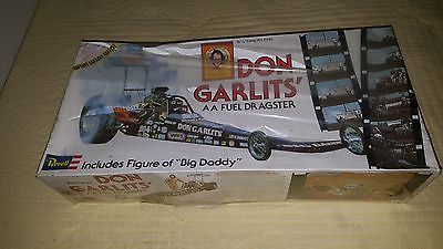 VINTAGE REVELL DON GARLITS  1/16 REAR ENGINE DRAGSTER SEALED