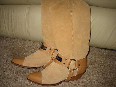 Lavorazione Artigiana Italian Leather Boots womens size 38 (US 7)