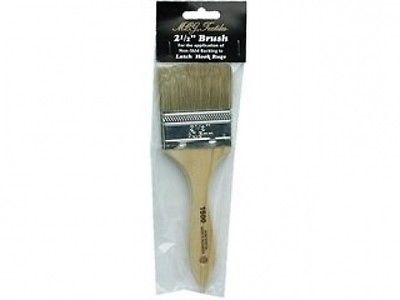 MCG Textiles 37414 Latch Hook Supplies 6.4cm Brush for Rug Backing. Delivery is