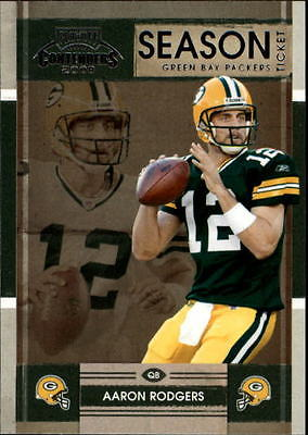 2008 Playoff Contenders #37 Aaron Rodgers - NM-MT