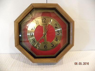 Dynasty Wood Wall Clock