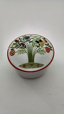 Villeroy Boch Bon Appetit Small Trinket Box with Lid Multicolored