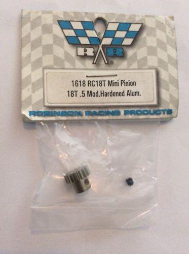Robinson Racing 1618 Mini Pinion Gear Aluminum 18T RC18T