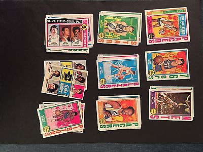 1974 Topps basketball lot of 38 common cards