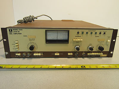5203 Lock-in Amplifier w/ Internal Oscillator Option and Amplifier Option 64-99