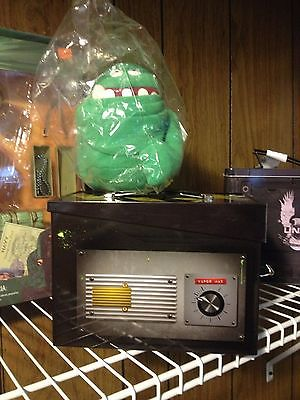 Ghostbusters ghost trap metal slimmer lunch box