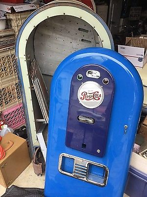 Vintage Jacobs 56 Pepsi Cola light up Vending Machine RARE